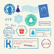 Christmas stamps set N3