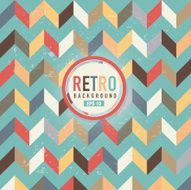 Textured and colorful retro chevron pattern background N2