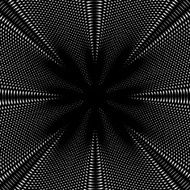 Optical illusion vector creative black and white graphic moire