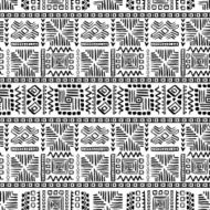 Abstract Seamless Pattern in Ethnic Style N39