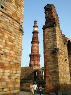 Qutb Minar is the highest minaret in the world
