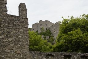 hohentwiel castle middle ages ruin
