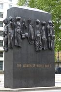 World War II monument in London
