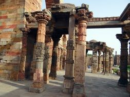 Qutab complex in India
