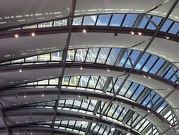 glass ceiling architecture