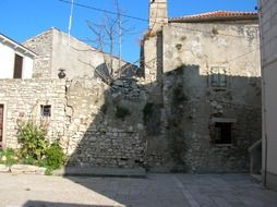 old stone building on the island of Susak