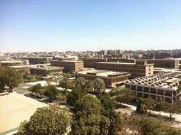 view of the university in Egypt