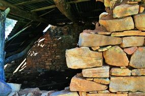 stone walls in pretoria