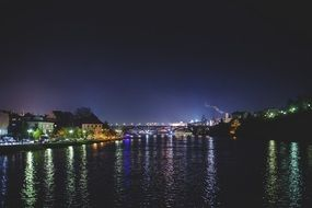 night city on a river