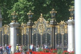 Golden Gate at Royal Castle in London, England
