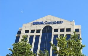office building for BBVA Compass company