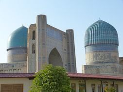Bibi Xanom - architectural monument in Samarkand