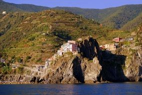 houses on the rock in manalora