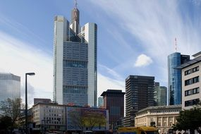 skyscraper in frankfurt an main