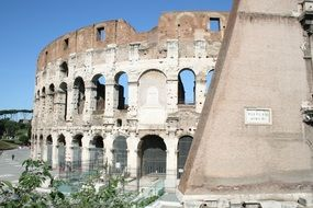 wonderful colosseum in rome