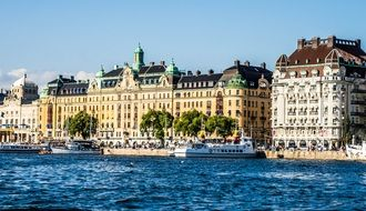 waterfront houses in stockholm