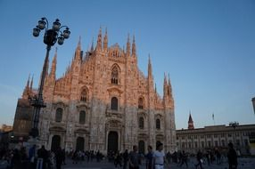 chic milan cathedral