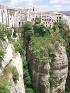 andalusia gorge city in mountains
