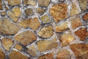 wall stone cement rustic old