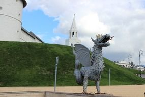 Dragon statue in Kazan