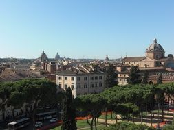 downtown rome, italy