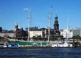 hamburg port of elbe