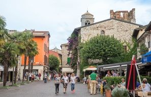 lake garda sirmione italy europe