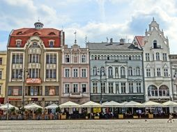 restorans in the market square building bydgoszcz