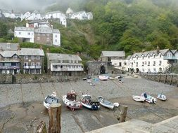 clovelly cornwall england