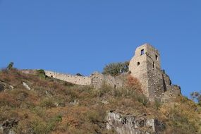 tower on a defensive wall