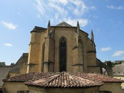 the Cathedral in Sarlat, Perigord, France