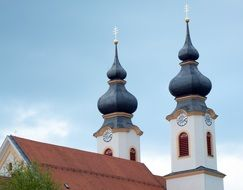 onion domes Church building