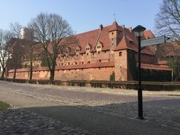 Castle in Malbork, Poland