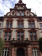 Building facade in Schwerin