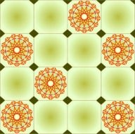 kitchen tiles with geometric patterns