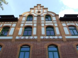 Wera House is a building in the Stuttgart district of Berg