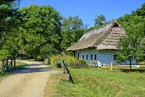 Cottage in the museum in Sanok