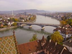 Panoramic view of munster Germany