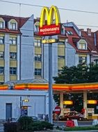 mcdonalds sign in bydgoszcz