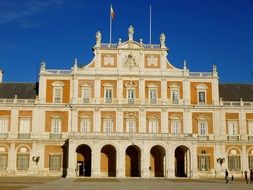 Aranjuez royal palace in Spain