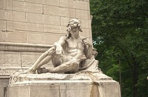 classical sculpture in New York