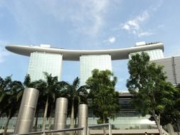 Modern architecture of Singapore