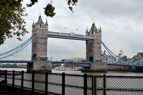 photo of beautiful historic bridge in London