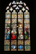 church stained glass mosaic window