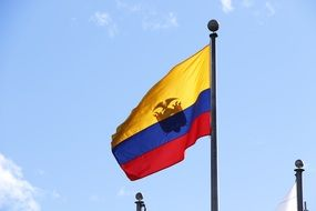 tricolor flag of Ecuador