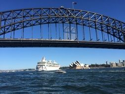 Harbour Bridge is the largest bridge in Sydney