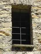 window castle stone