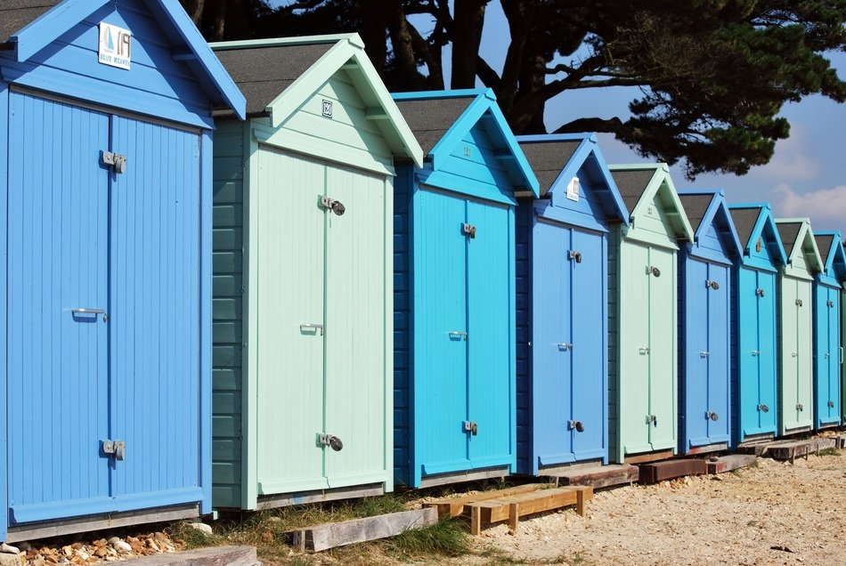 seaside huts