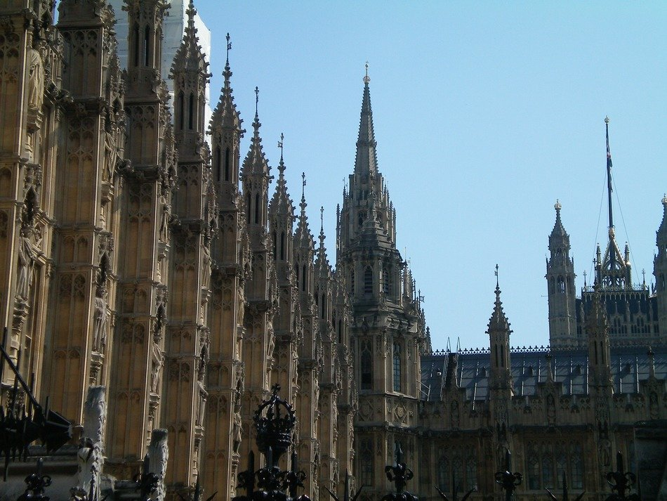 towers as an element of parliament architecture in London