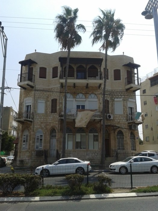 arabic house with balconies